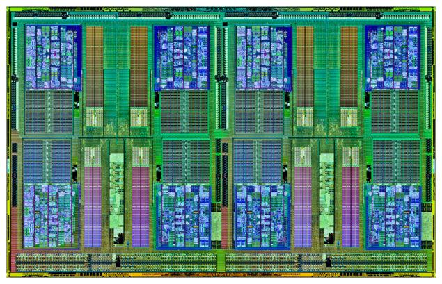 AMD Opteron 6300 Dual Die Shot