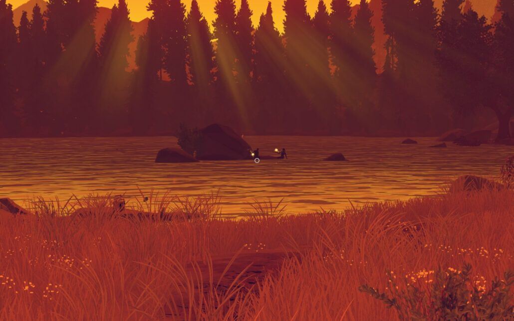 Firewatch 02 - Skinny Dipping