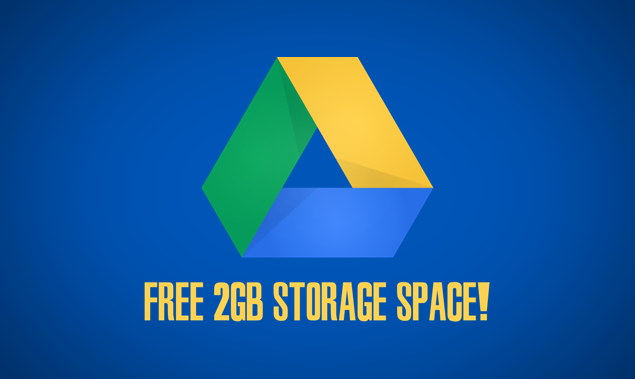 Google Drive free space