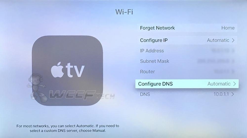Set Custom DNS On Apple TV 4 And Improve Streaming Speed