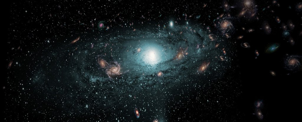 milky way galaxy in relation to other galaxies - photo #3