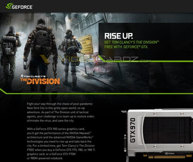 NVIDIA GeForce The Division Bundle