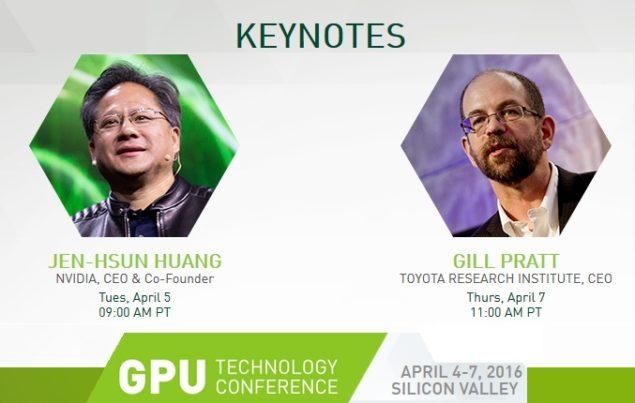 Nvidia GTC 2016 Pascal
