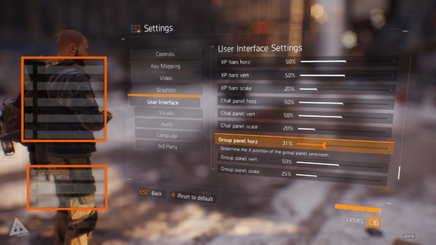 The Division Beta multi group