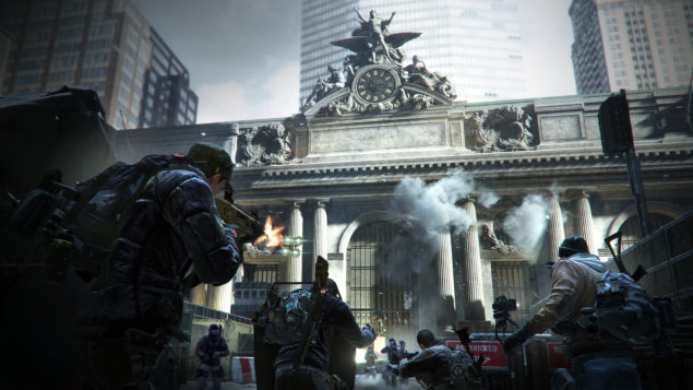The Division Open Beta Grand Central Screenshot