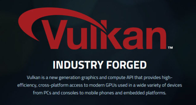 Vulkan API NVIDIA GeForce