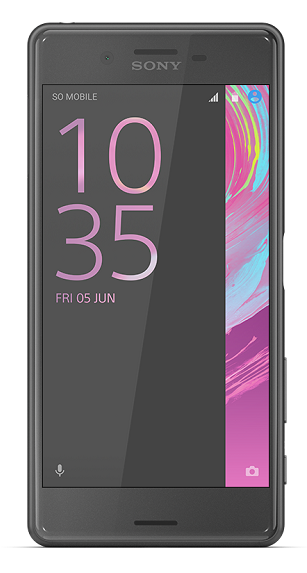 xperia-x-performance-black-front