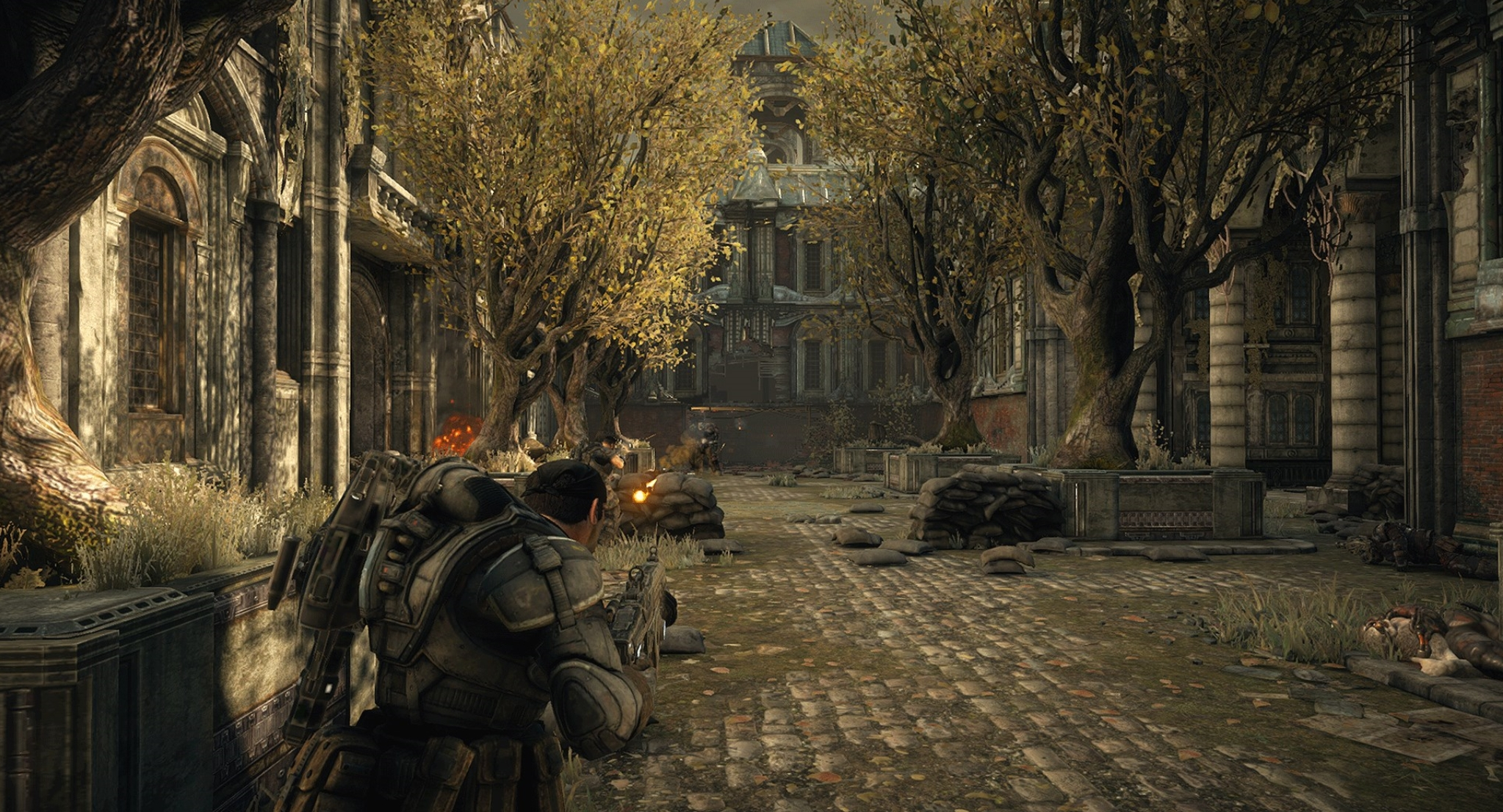 Gears of War Ultimate Edition PC Gets Screenshots, File Size