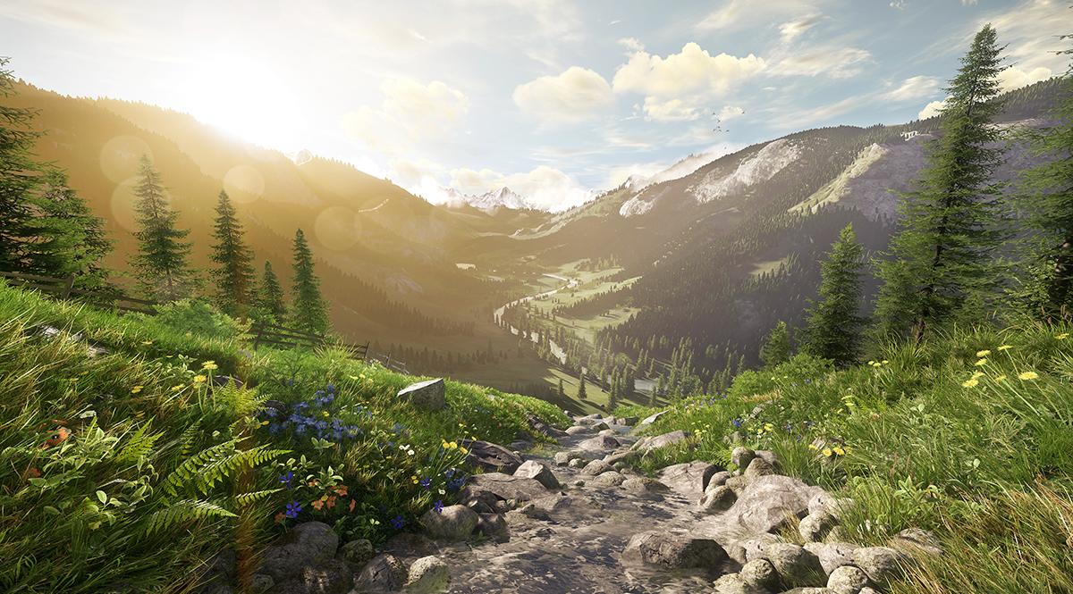 Amazon Releases Lumberyard, A Free Game Engine Based On