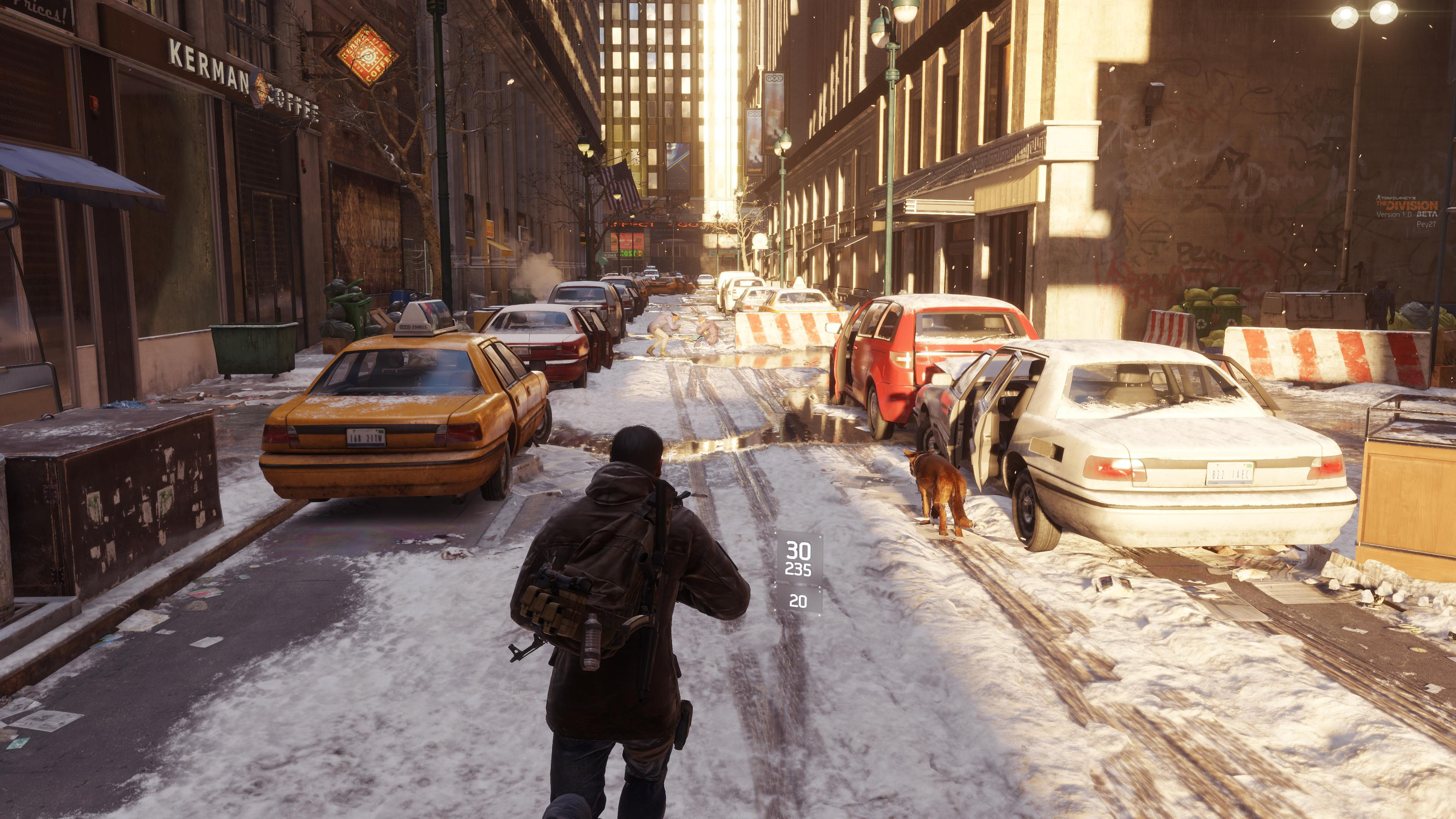 The Division In-Game Benchmark Test @4K Resolution - Pretty
