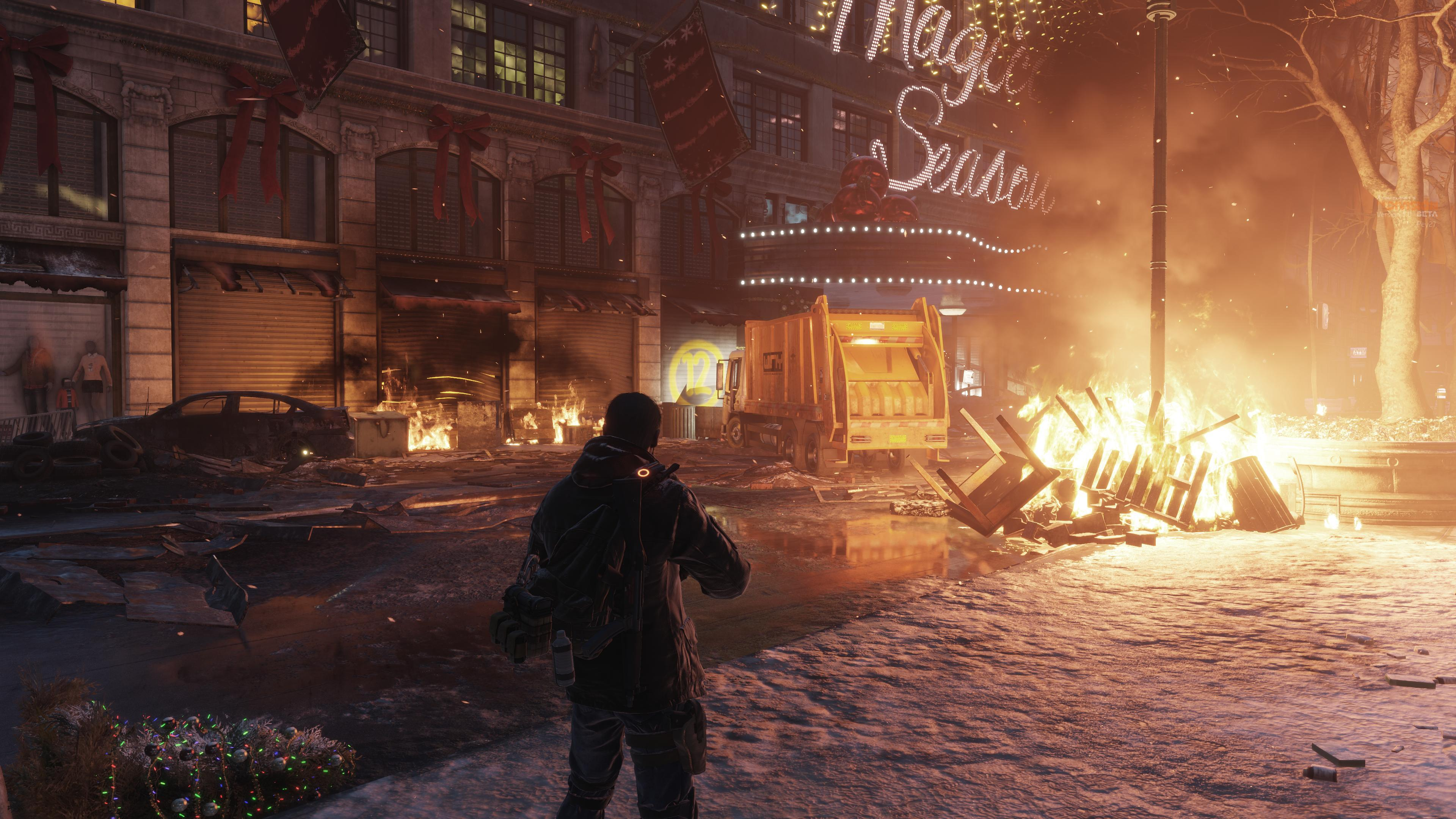 the division beta had 22 of the full game 39 s map dark. Black Bedroom Furniture Sets. Home Design Ideas