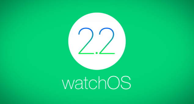 watchOS 2.2 main