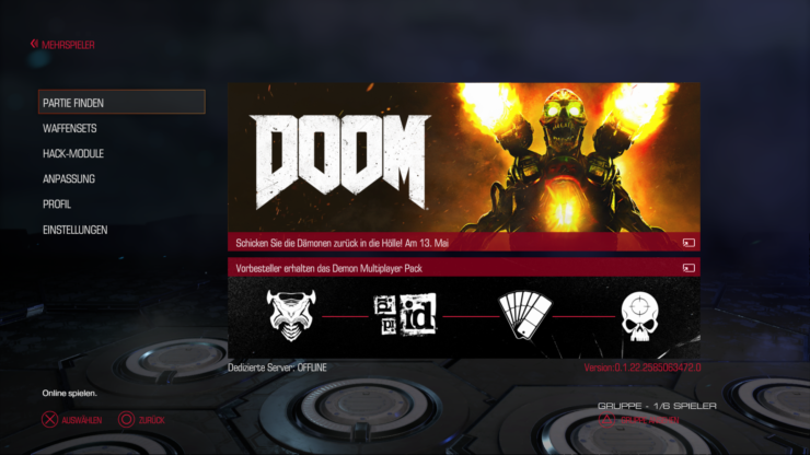 DOOM Closed Beta New Screenshots Surface Online, PlayStation 4 Alpha