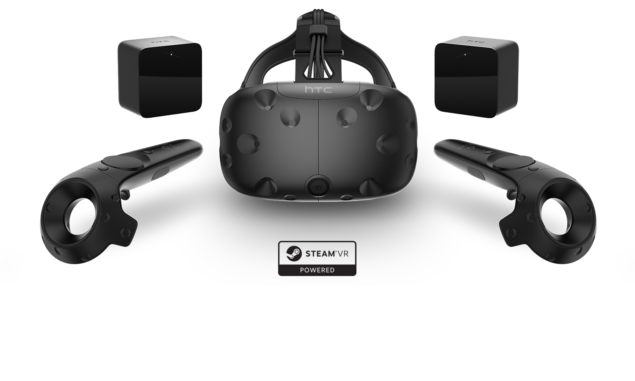 The HTC Vive...