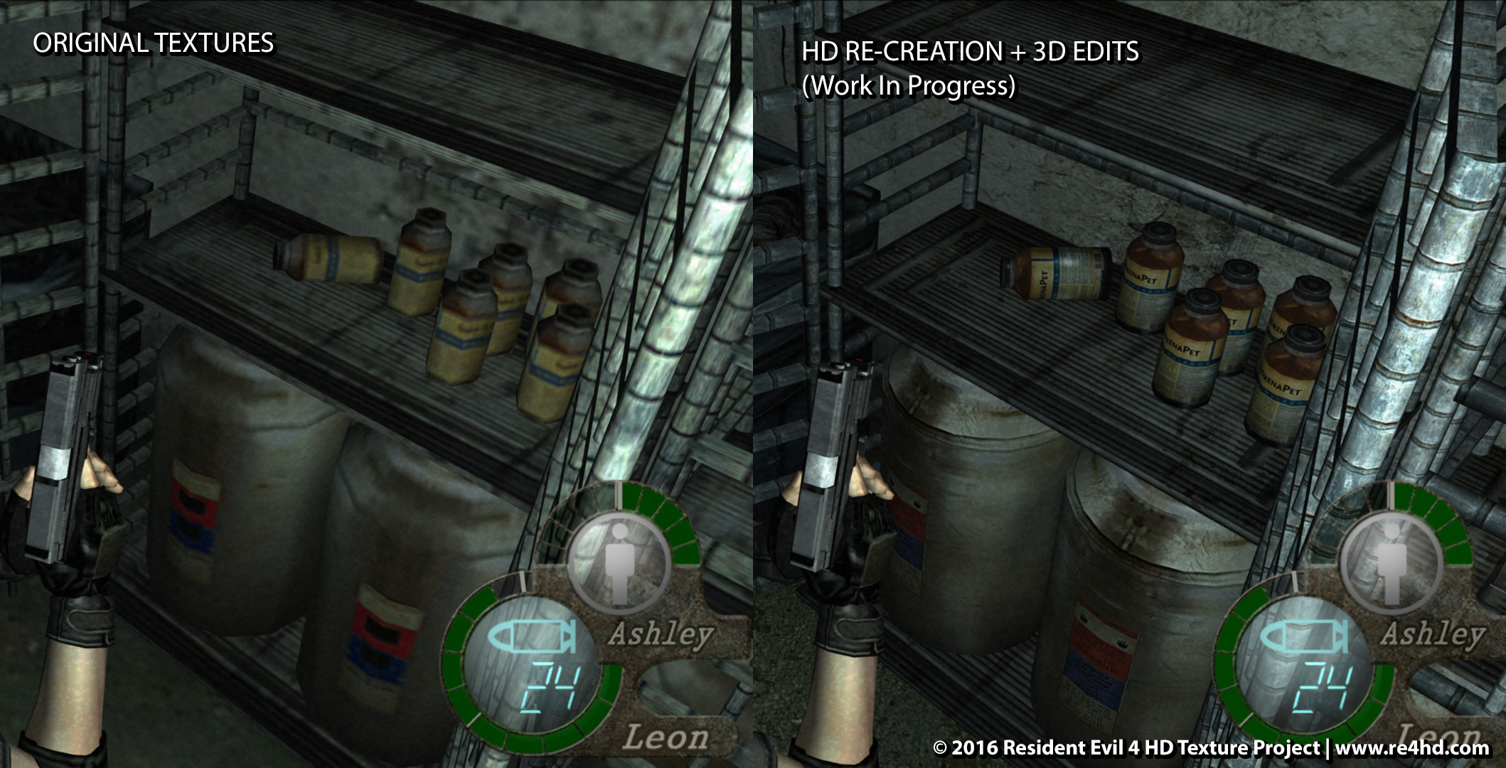 Resident Evil 4 Hd Project Gets New Screens And Video Showcase