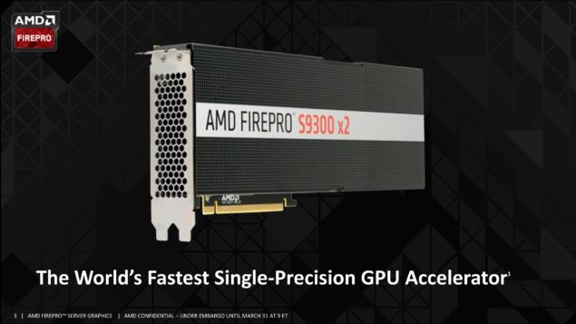 AMD FirePro S9300 X2 Dual Fiji_Graphics Card
