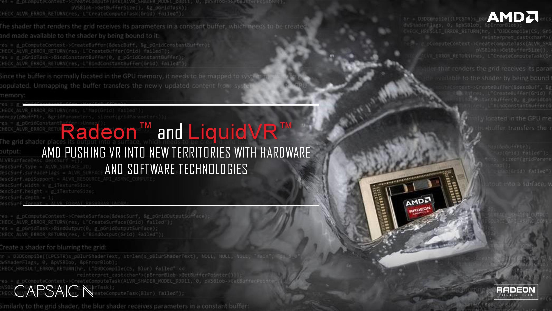 UPDATED: Full Slide Deck] AMD's Capsiacin Webcast - Polaris, DirectX