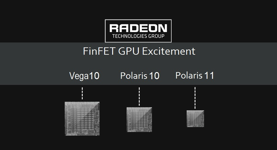 AMD Vega 10, Polaris 10, Polaris 11 Feature