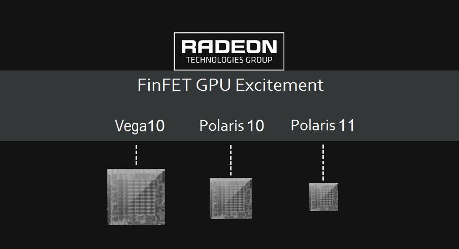 AMD Vega 10, Polaris 10, Polaris 11 Feature