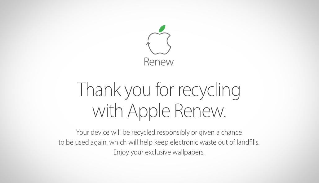 Download Exclusive Apple Renew Wallpapers For IPhone IPad
