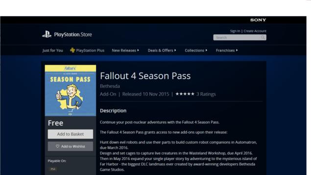 F4 Season Pass
