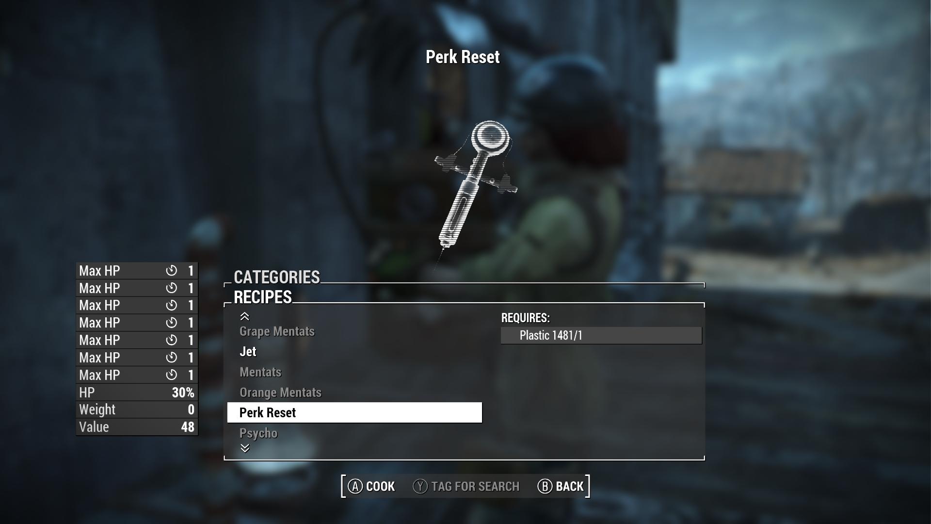 Fallout 4 New Mod Allows Players To Reset And Refund Perks