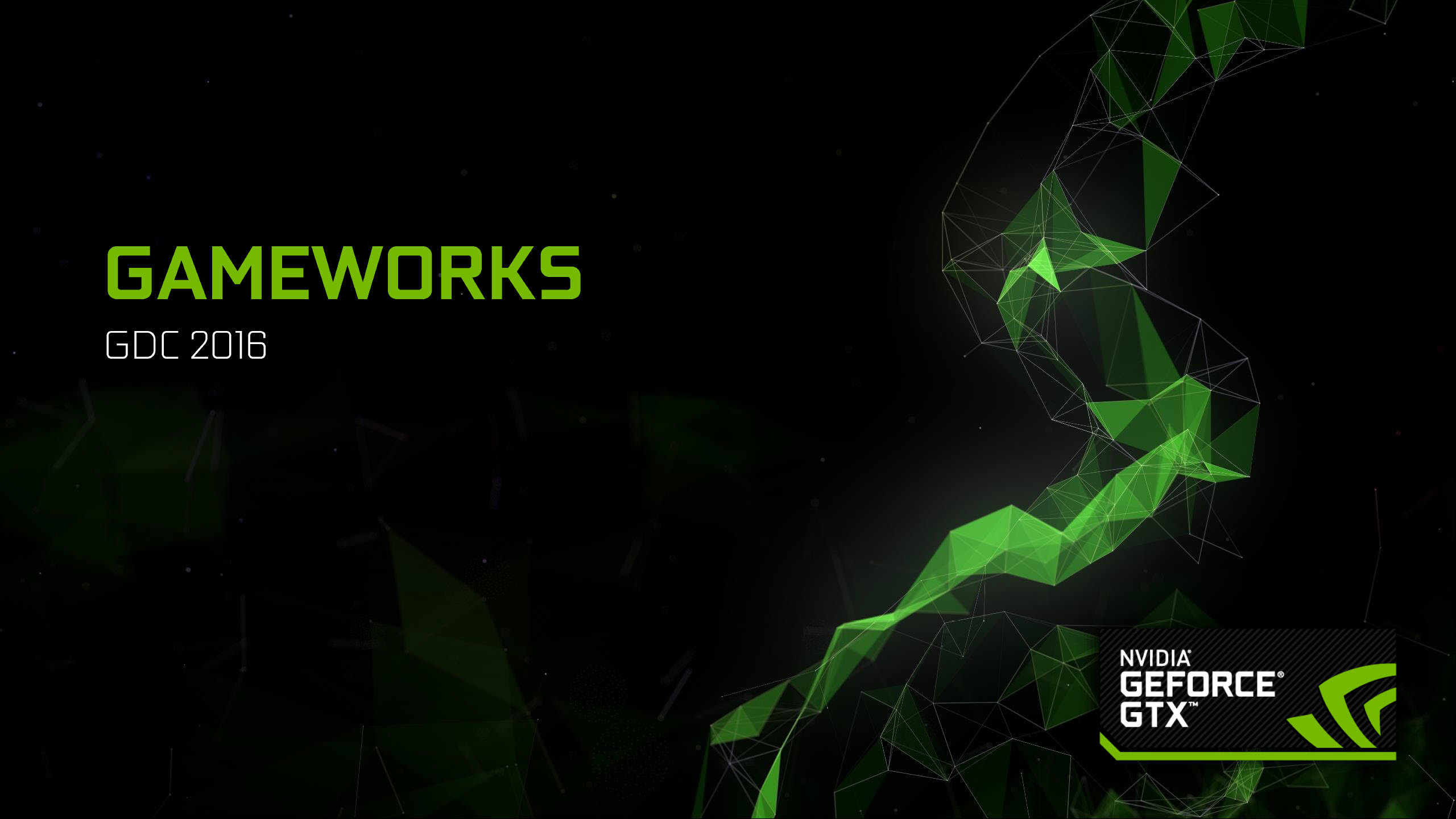 Unity Announces Support for NVIDIA VRWorks at GDC 2016 - Gameworks 3.1 SDK Also Released