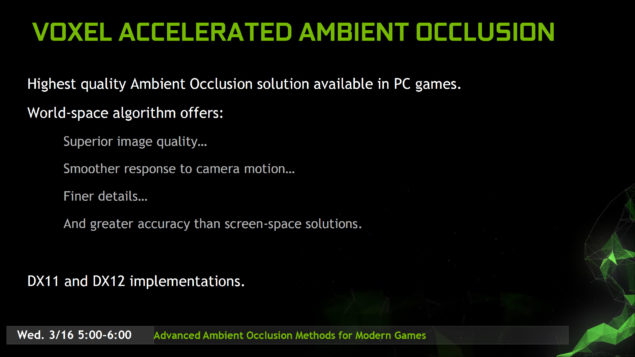 NVIDIA Gameworks 3.1 SDK_VXAO