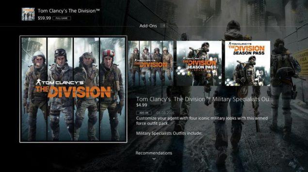 PS4 PSN Store Overhaul 1