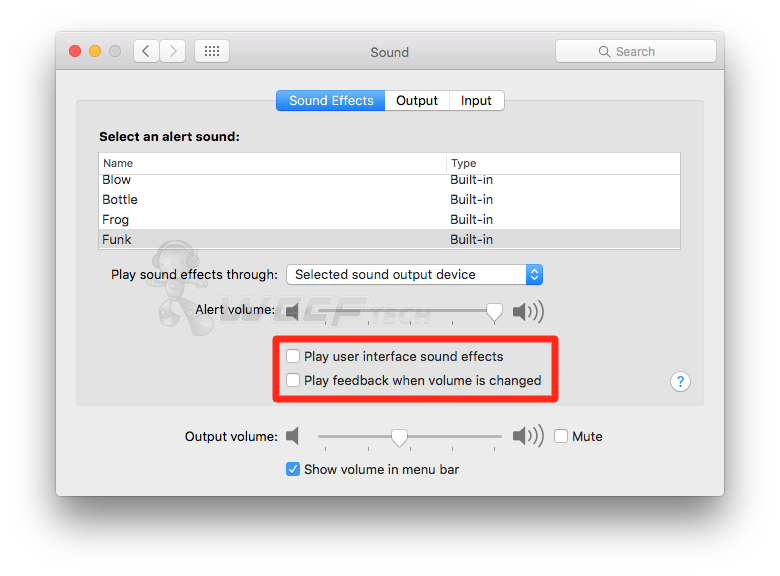 How To Turn Off OS X System Sounds