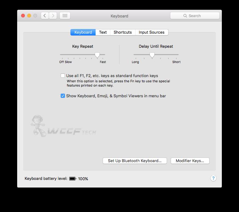 Show Keyboard Emoji & Symbols Entry In Mac Menu Bar - How To