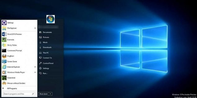 How To Get A Windows 10 Start Menu With Classic Win7 Looks