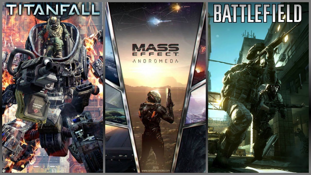 Mass Effect Andromeda To Release In 2017 Titanfall 2 Amp Battlefield 5 Out This Year