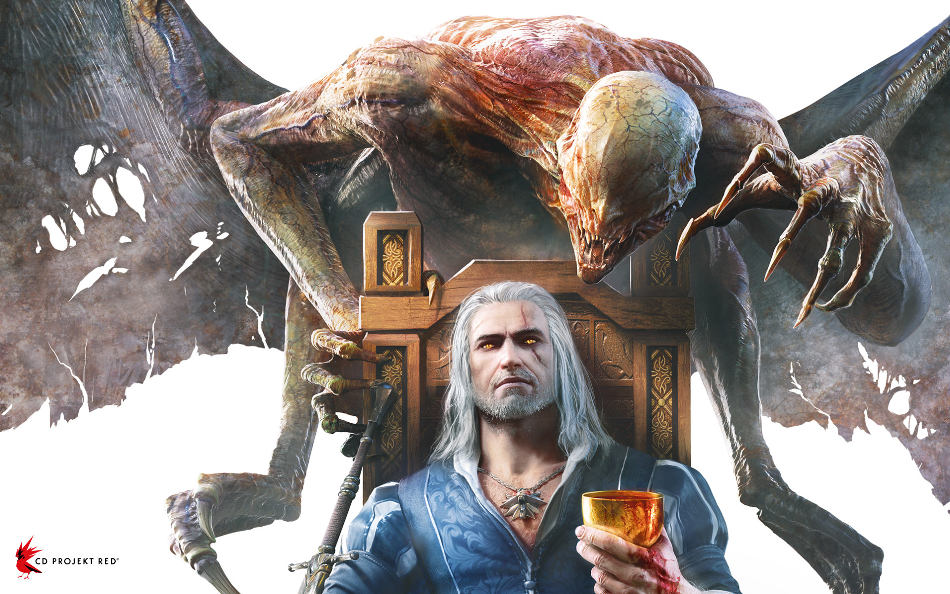 The Witcher 3 Blood And Wine Cover Art Sketches, Close-Up Shots ...