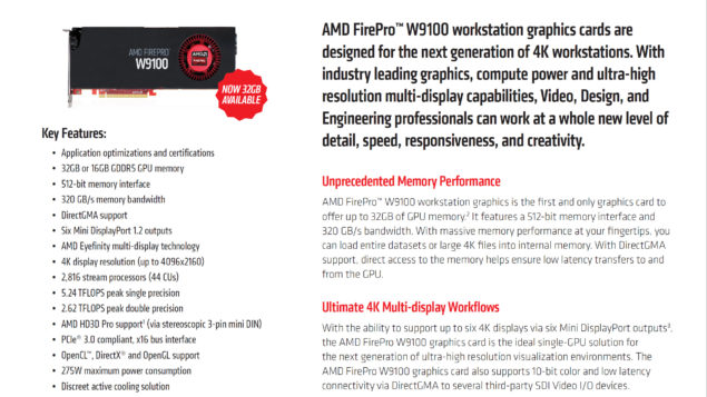 AMD FirePro W9100 Workstation Graphics Card_2