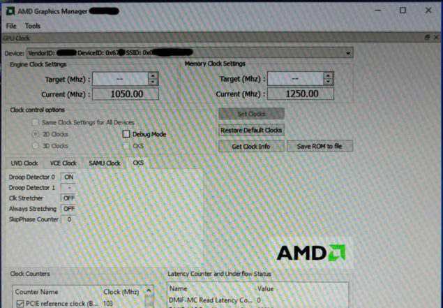 AMD Polaris 10 GPU Cut Down Variant