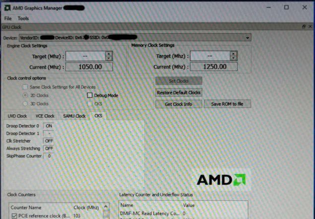 AMD Polaris 10 GPU Cut Down Variant