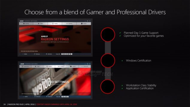 AMD Radeon Pro Duo Graphics Card_Drivers