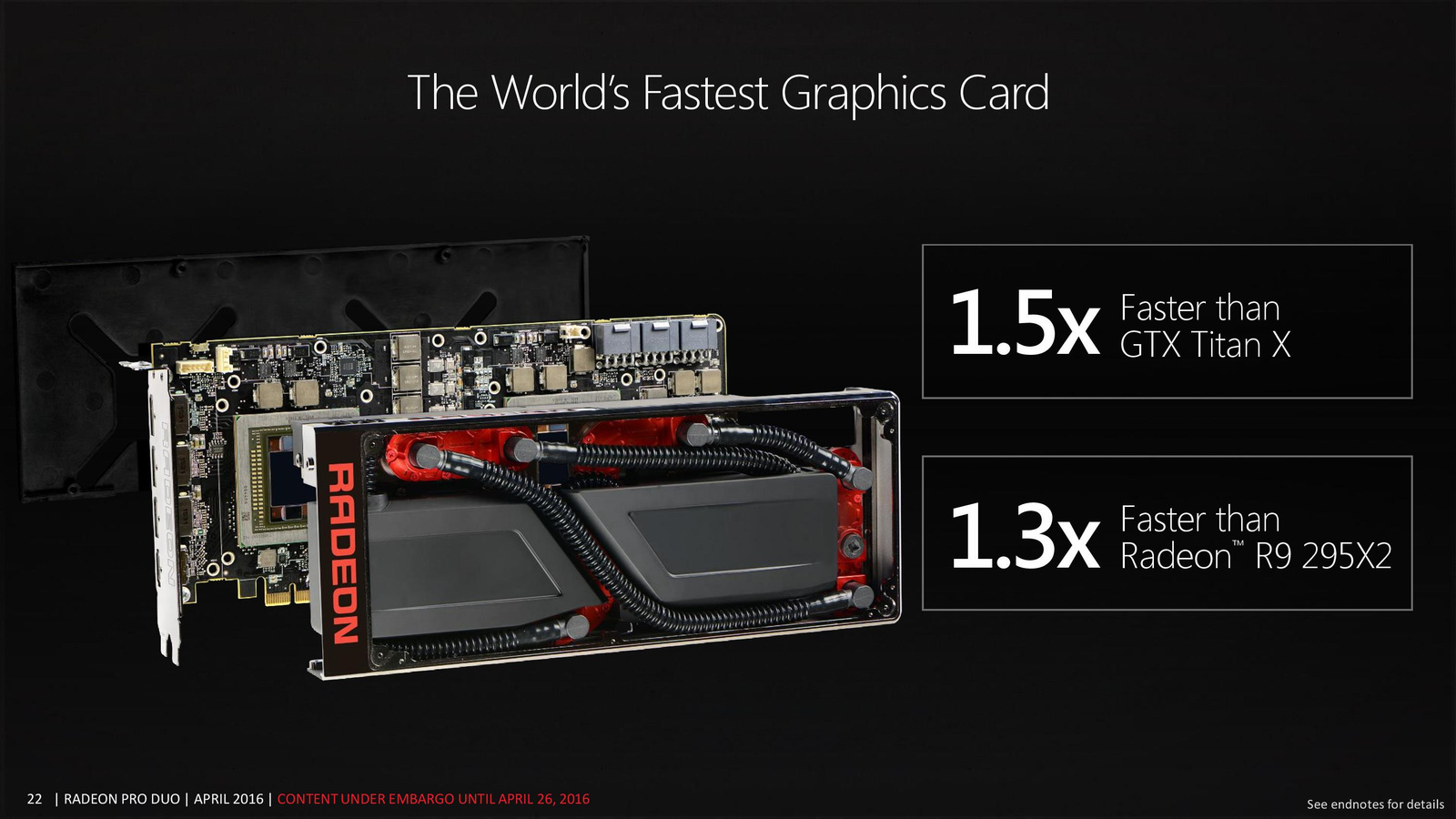 Official AMD Radeon Pro Duo Specifications Revealed - 16 38