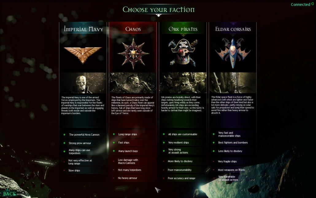 Battlefleet Gothic 02 - Factions