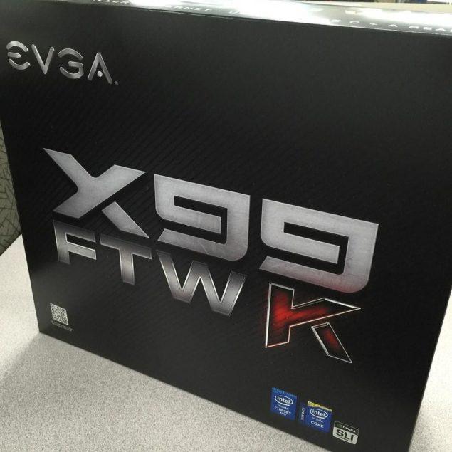 EVGA X99 FTW K Motherboard