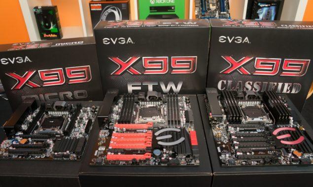 EVGA X99 Lineup