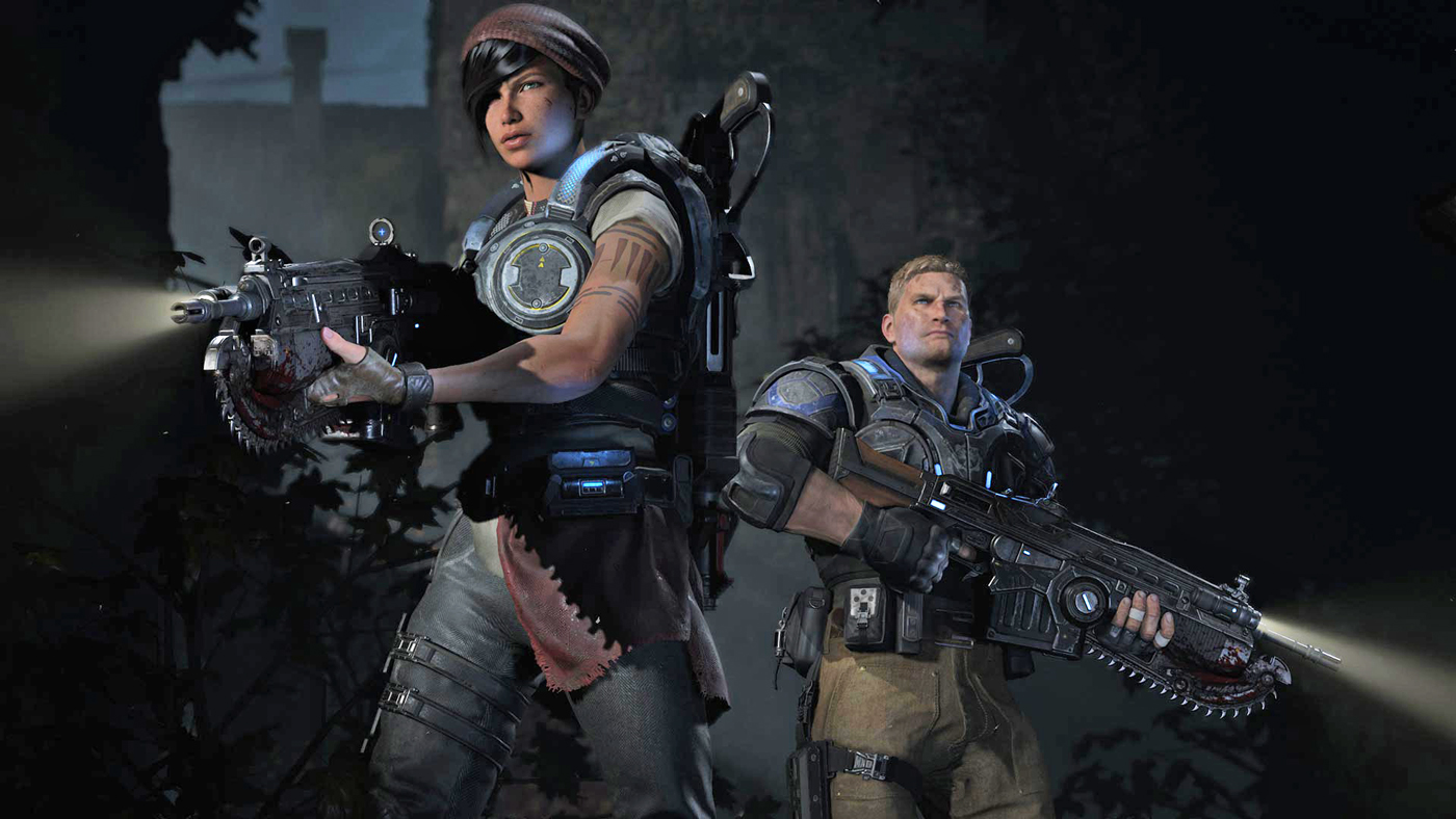 gears of war 4 will really push the xbox one hardware with. Black Bedroom Furniture Sets. Home Design Ideas
