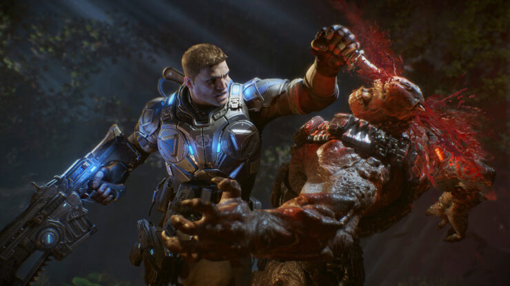 GEars of war 4 update multi-gpu