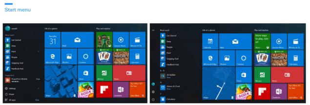 start menu for windows 10
