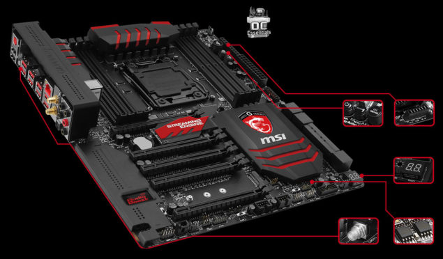 MSI X99S Gaming Motherboard