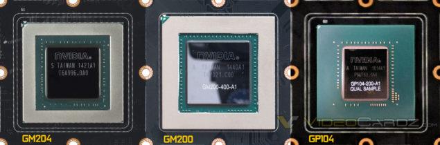 NVIDIA Pascal GP104 GPU_Comparison