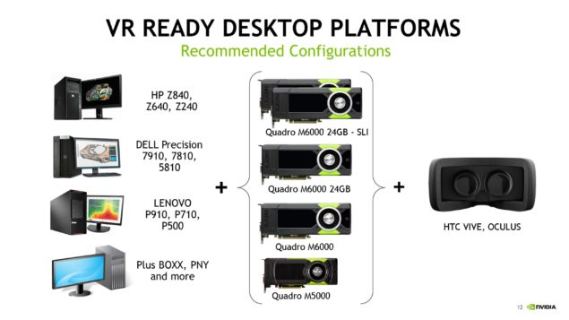 NVIDIA VR Ready Program Quadro Workstation_GPUs