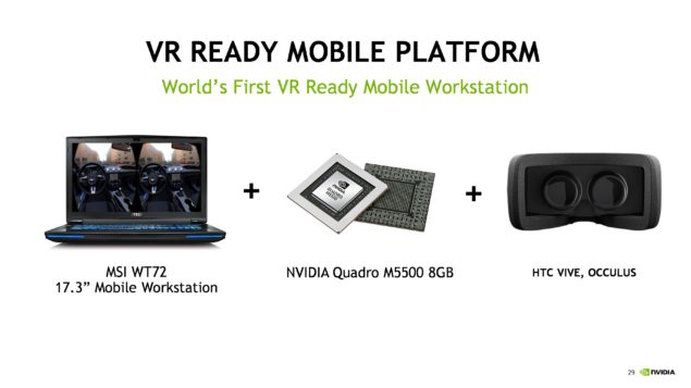 NVIDIA VR Ready Program Quadro Workstation_Quadro M5500M