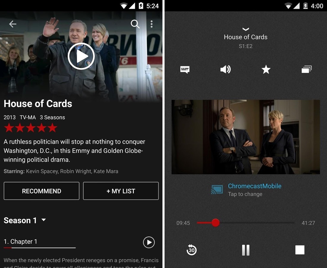 Android Netflix